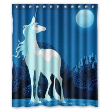 larona die letzte einhorn custom polyester gewebe duschvorhang 165 x 180 cm badvorh nge. Black Bedroom Furniture Sets. Home Design Ideas