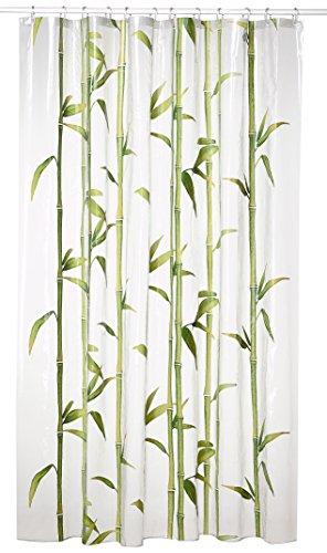 kleine wolke 5249625305 duschvorhang bamb 180 x 200 cm maigr n. Black Bedroom Furniture Sets. Home Design Ideas