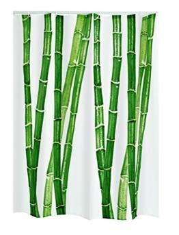 Ridder 479900-350 Duschvorhang Textil Fiona inklusiv Ringe, 180 x 200 cm -