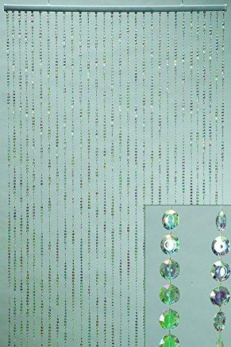 Vorhang Perlenvorhang Türvorhang RAINBOW 200 x 90 cm -