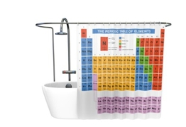 getDigital Periodensystem Duschvorhang - 1