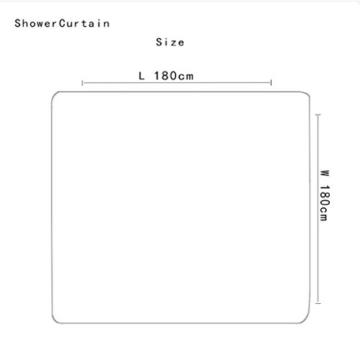 KKY-ENTER Kreative Mode 3D Stereo Lila Kleine Liebe Herz Muster Badezimmer Wasserdicht Duschvorhang Bad Wc Dreiteilige Set Bad Antirutschmatte (Duschvorhang + Bad Matte + Sockel Matte + Wc Sitzbezug Matte) ( größe : A ) - 2