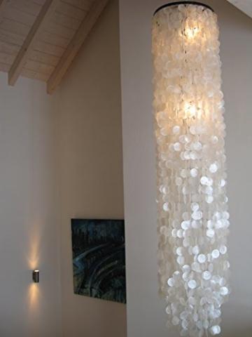 Muschellampe 200 cm hoch, Samoa XXL / Oceanlights Muschellampe - 2