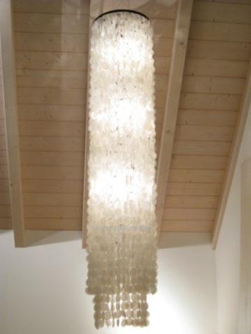 Muschellampe 200 cm hoch, Samoa XXL / Oceanlights Muschellampe - 4