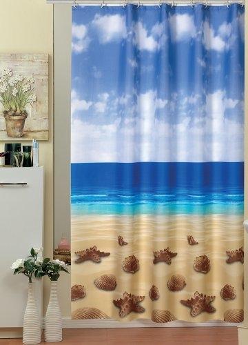 EDLER Textil Duschvorhang 120 x 200 cm