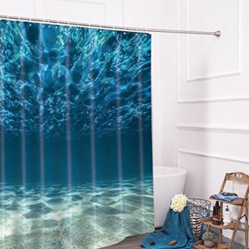 lonior wasserdichter duschvorhang anti schimmel. Black Bedroom Furniture Sets. Home Design Ideas