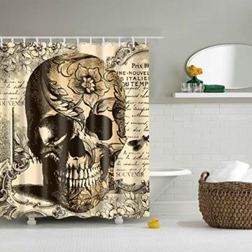 Totenkopf Vorhang für die Dusche 1PC für Zuhause und Bad - 2
