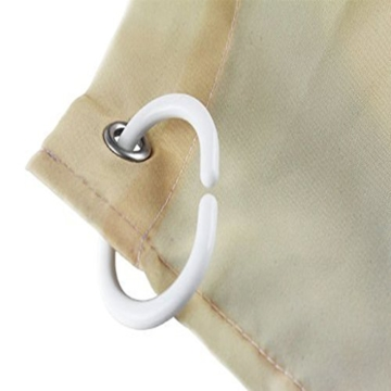 Weiß Totenkopf Vorhang für die Dusche 1PC für Zuhause und Bad - 3