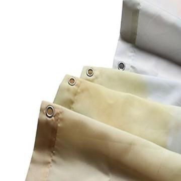 Weiß Totenkopf Vorhang für die Dusche 1PC für Zuhause und Bad - 4