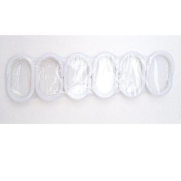 Weiß Totenkopf Vorhang für die Dusche 1PC für Zuhause und Bad - 5