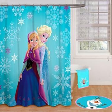 Disney Frozen Anna und Elsa, Duschvorhang, Anna and Elsa Single, Shower Curtain - 2