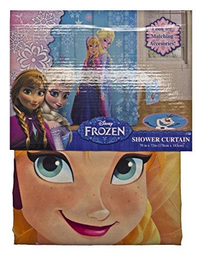 Disney Frozen Anna Und Elsa Duschvorhang And Single Shower Curtain
