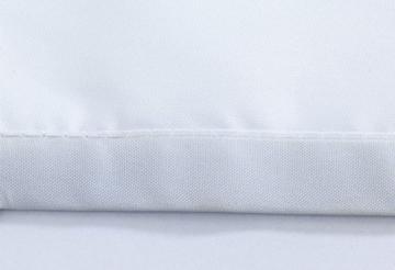Wenko 22479100 Anti-Schimmel Duschvorhang Guilty Dog Flex, Anti-Bakteriell, wasserabweisend, waschbar, schimmelresistent mit integrierter Hängeeinrichtung, 100% Polyester, 180 x 200 cm, mehrfarbig - 4