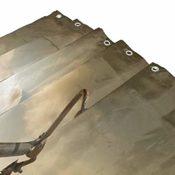 CPYang Duschvorhänge Desert Anchor Muster Wasserdicht Schimmelresistent Badvorhang Badezimmer Home Decor 168 x 182 cm mit 12 Haken - 3